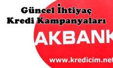 Akbank Güncel Kredi Kampanyaları