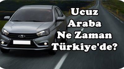 Lada Vesta Ne Zaman Türkiye'de Satışa Çıkarılacak?