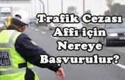 Trafik Cezası Affı İçin Nereye Başvurulur?