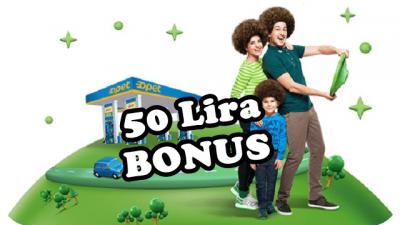 Opette 50 Lira Bonus