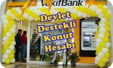 Vakıfbank Devlet Destekli Konut Hesabı