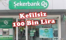Şekerbank'tan Kefilsiz 100 Bin Lira Konut Kredisi