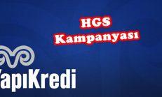 Yapı Kredi Bankası HGS Kampanyası