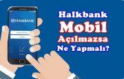 Halkbank Mobil Uygulama Açılmıyor, Ne Yapmalıyım?