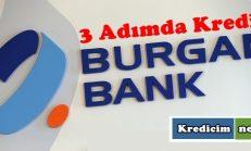 Üç Adımda Kredi Burganbank'tan