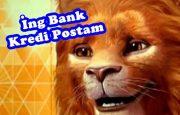 İng Bank Kredi Postam İle PTT İhtiyaç Kredisi