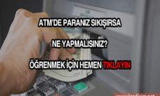 ATM'de Para Sıkışması