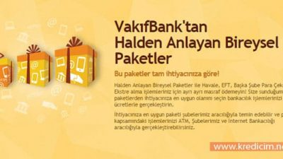 Vakıfbank Full Paket İptali