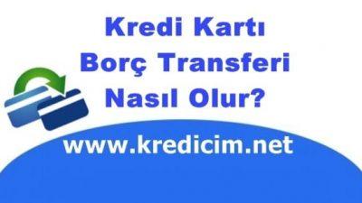 Kredi Borç Transferi Nasıl Olur?