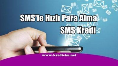 SMS'le Hızlı Kredi Kullanma