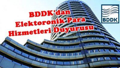BDDK'dan Fatura Ödeme Hizmetlerine İlişkin Duyuru Yapıldı.