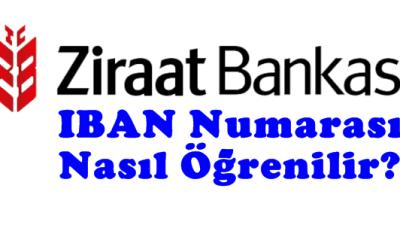 Ziraat Bankası İban Numarası Nasıl Öğrenirim?