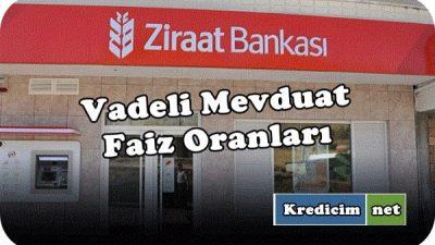 Ziraat Bankası En Yüksek Vadeli Mevduat Faizleri