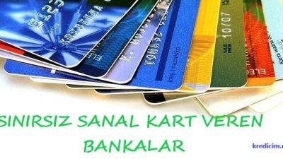 Sanal Kart Veren Bankalar