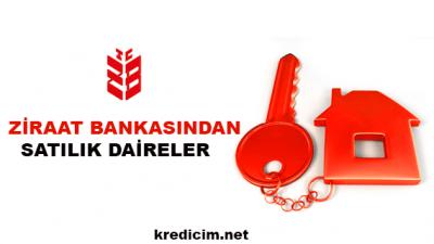 Ziraat Bankasından Satılık Daireler