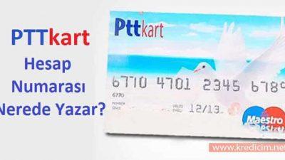 PTT Bank IBAN ve Hesap Numarası Öğrenme