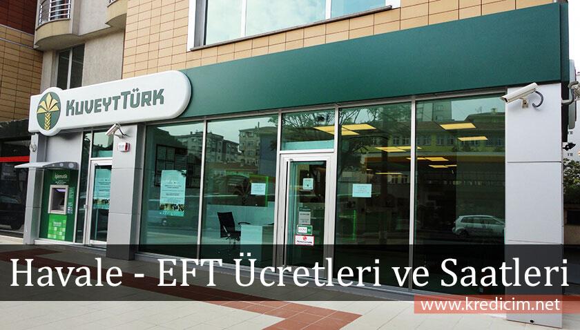 Kuveyt Türk EFT ve Havale İşlemleri Limitleri